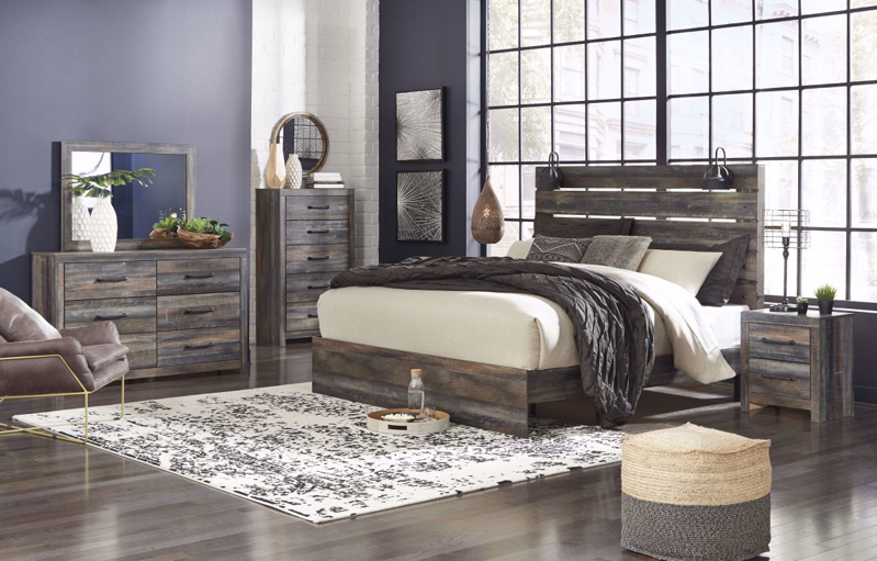 Drystan King Size Bed