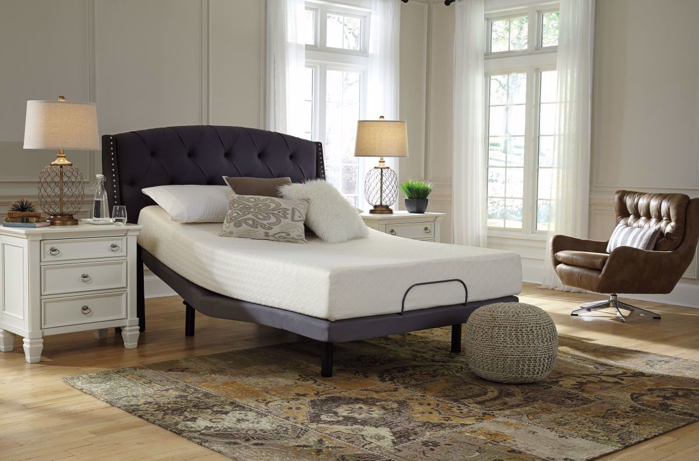Picture of Chime 10in Queen Mattress & Powerbase