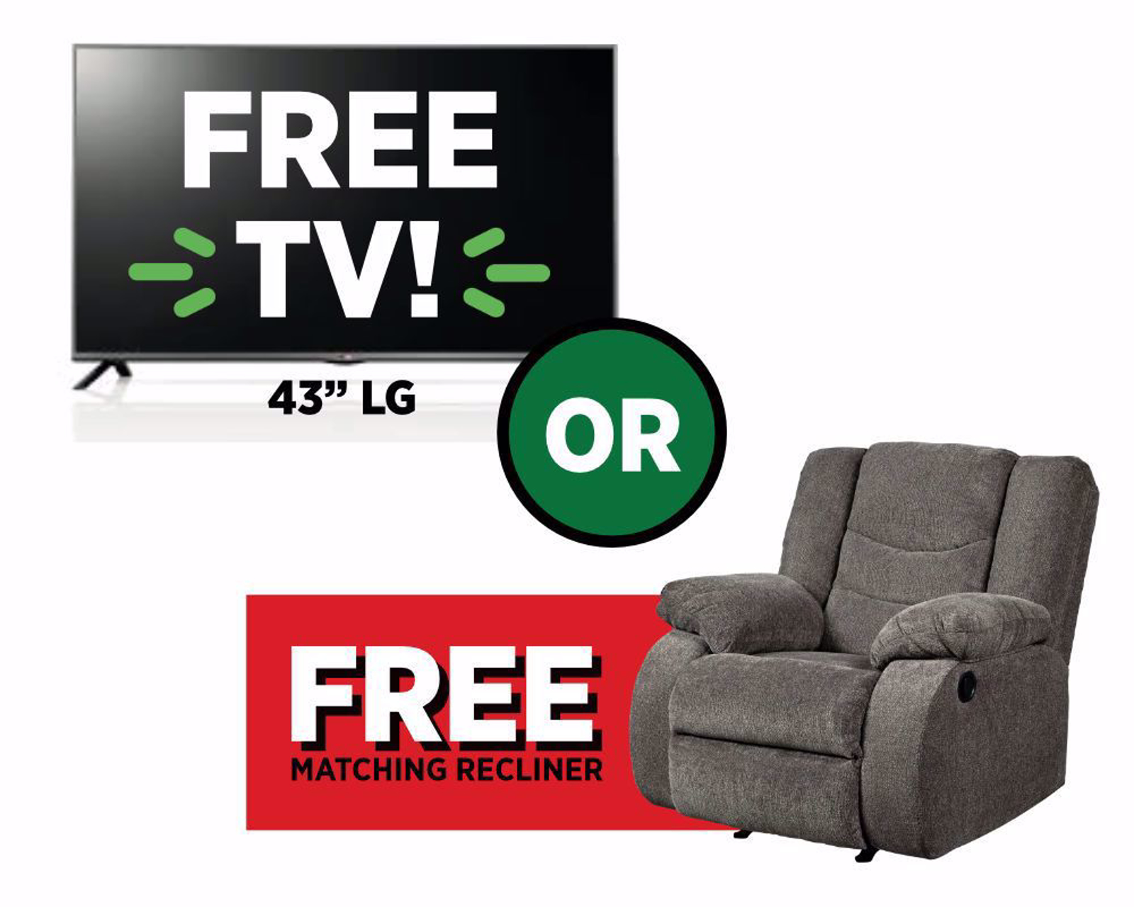 Picture of Free TV or Recliner