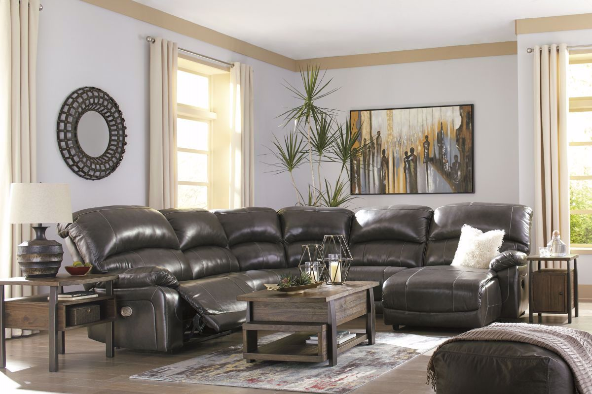 Picture of Hallstrung Reclining Power Sectional