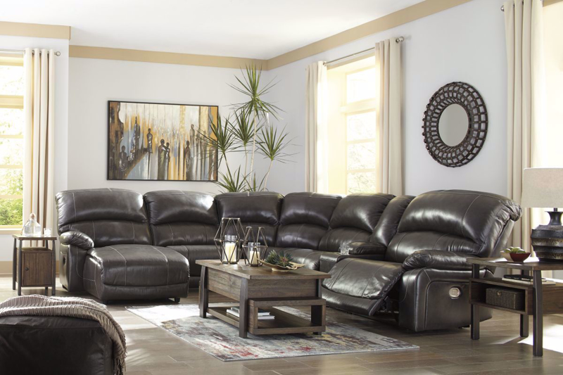 Hallstrung Reclining Power Sectional