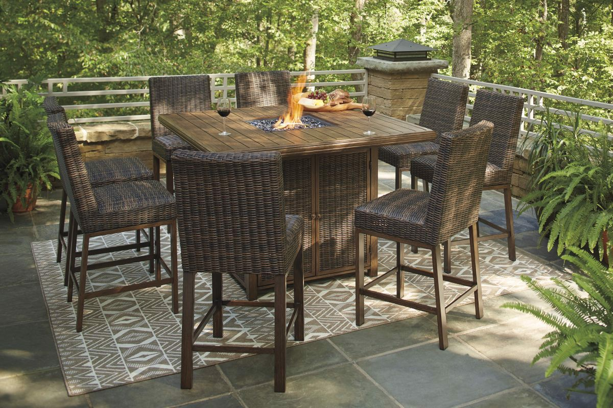 Picture of Paradise Trail Patio Bar Stool