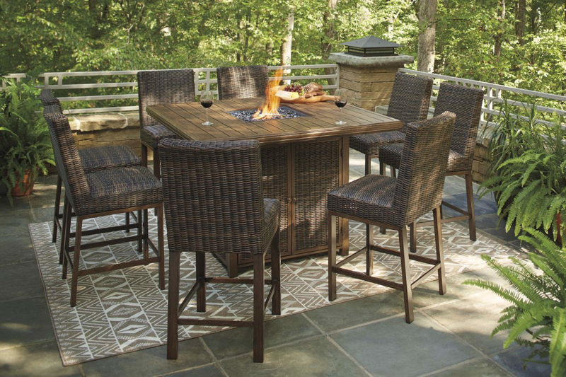 Paradise Trail Patio Bar Stool