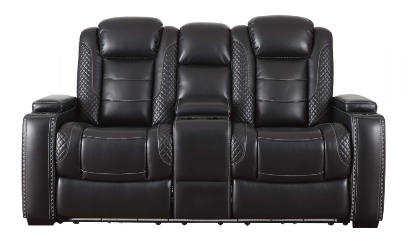 Party Time Reclining Power Loveseat