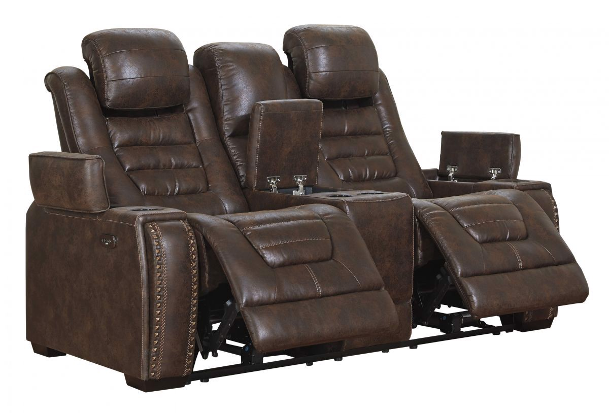 Picture of Game Zone Reclining Power Loveseat