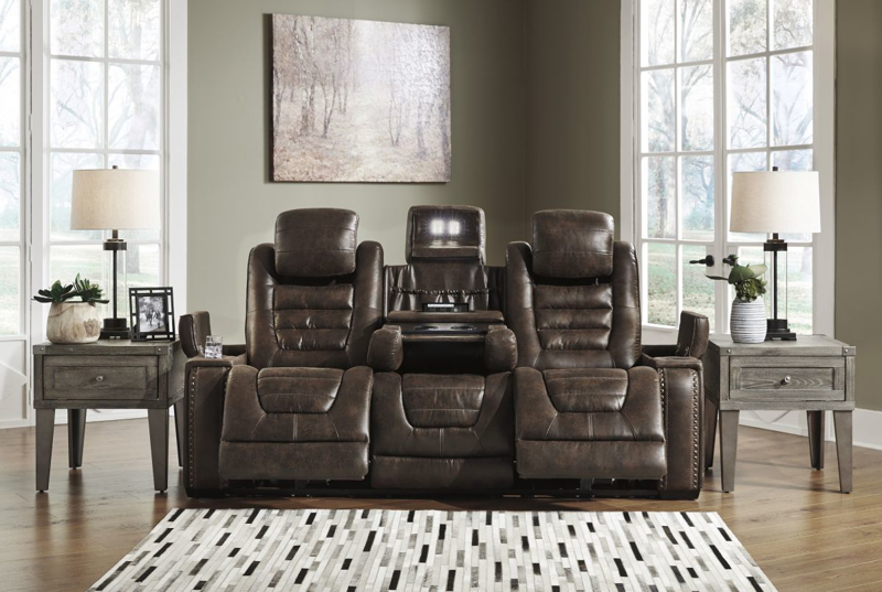 Game Zone Reclining Power Sofa