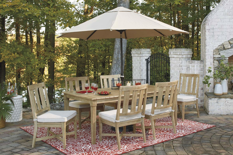 Clare View Patio Dining Table