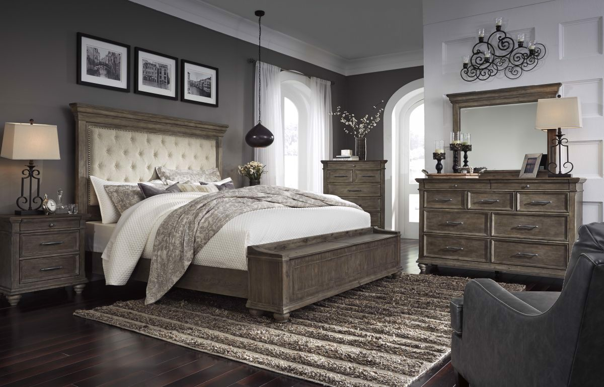 Johnelle King Size Bed