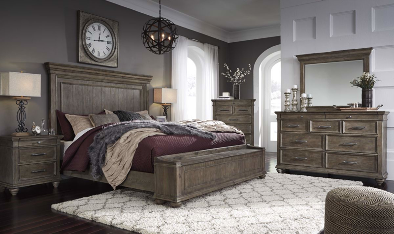 Johnelle Queen Size Bed