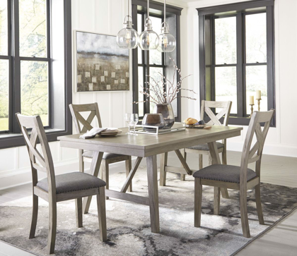 Picture of Aldwin Table & 4 Chairs