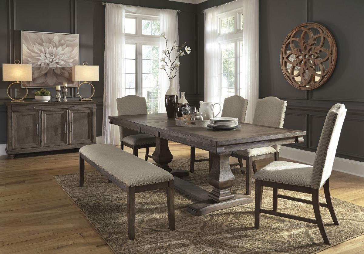 Picture of Johnelle Table, 4 Chairs & Bench