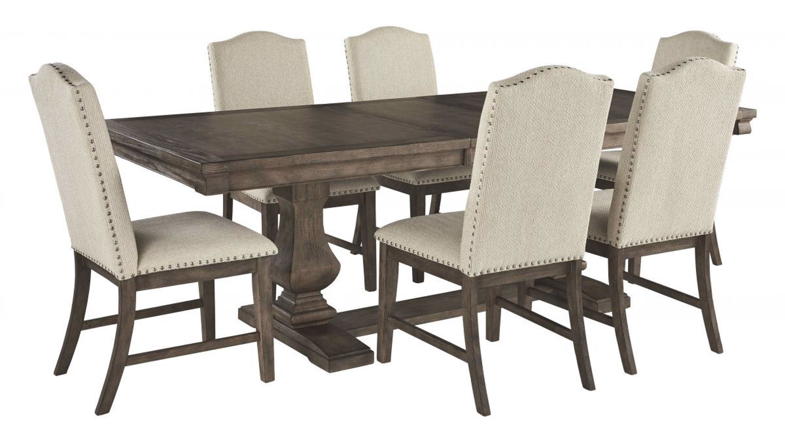 Strange Johnelle Table 6 Chairs Beutiful Home Inspiration Xortanetmahrainfo
