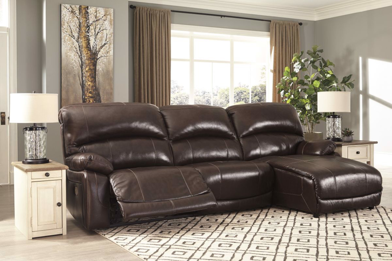 Hallstrung Reclining Power Sofa Chaise