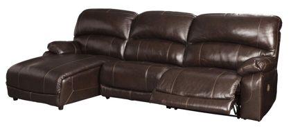 Picture of Hallstrung Reclining Power Sofa Chaise