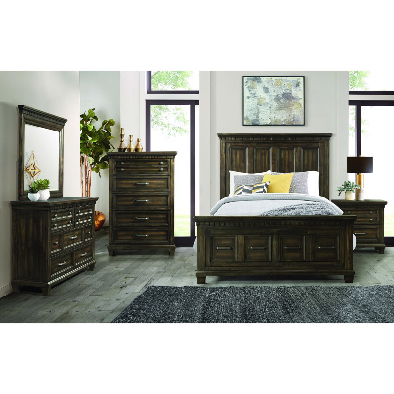 McCabe King Size Bed