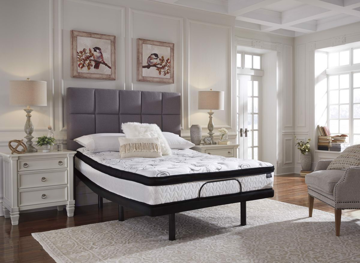 Picture of Chime 12in Hybrid Queen Mattress & Powerbase
