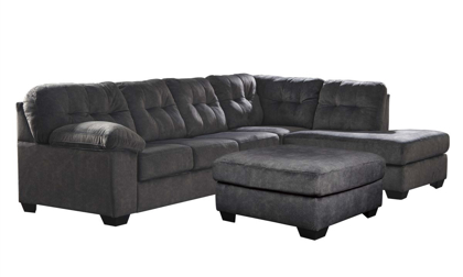 Picture of Accrington Sectional with Ottoman