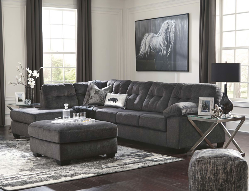 Accrington Sectional with Ottoman