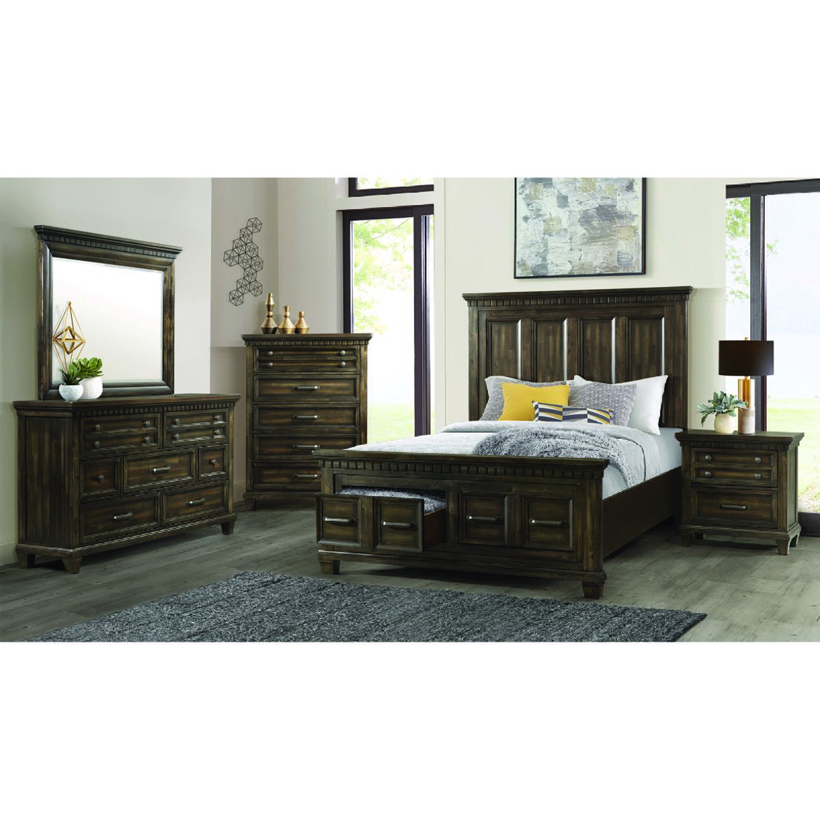 Picture of McCabe 5 Piece Queen Bedroom Group