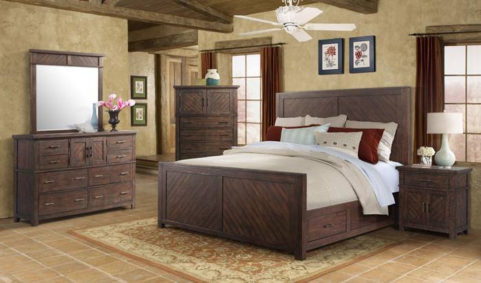 Picture of Jax 5 Piece Queen Bedroom Group