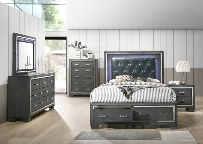 Picture of Titanium 5 Piece King Bedroom Group