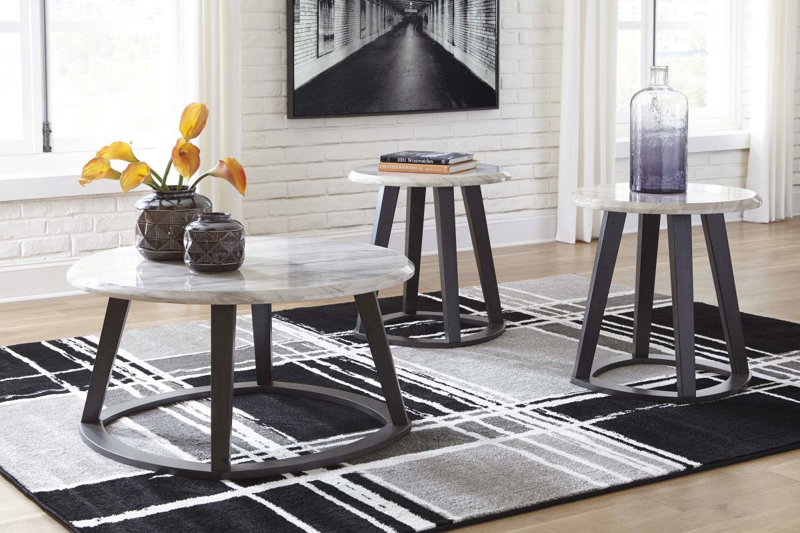 Luvoni 3 Piece Table Set