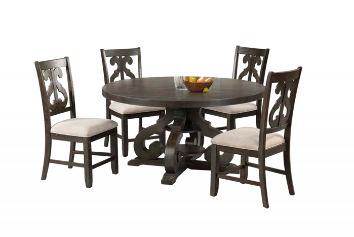 Picture of Stone Table & 4 Chairs