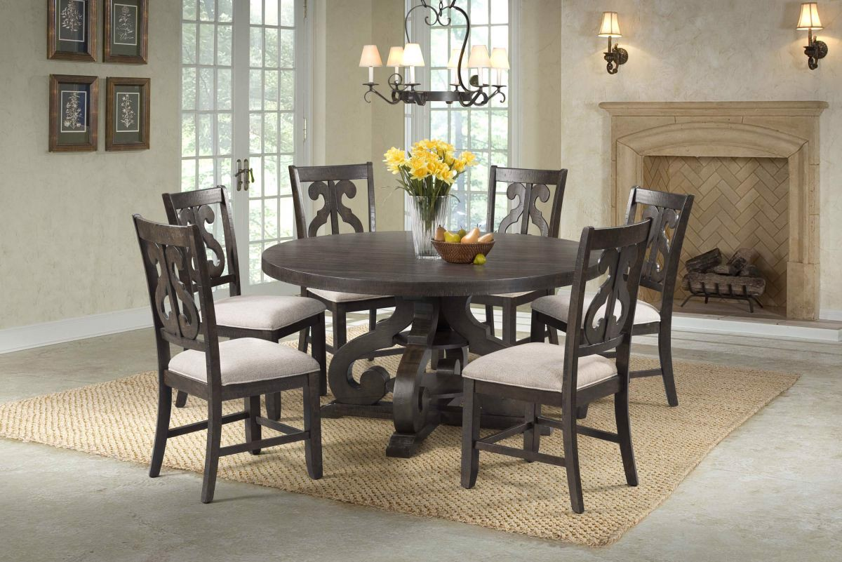 Picture of Stone Table & 6 Chairs