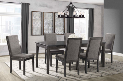 Picture of South Paw Table & 6 Chairs