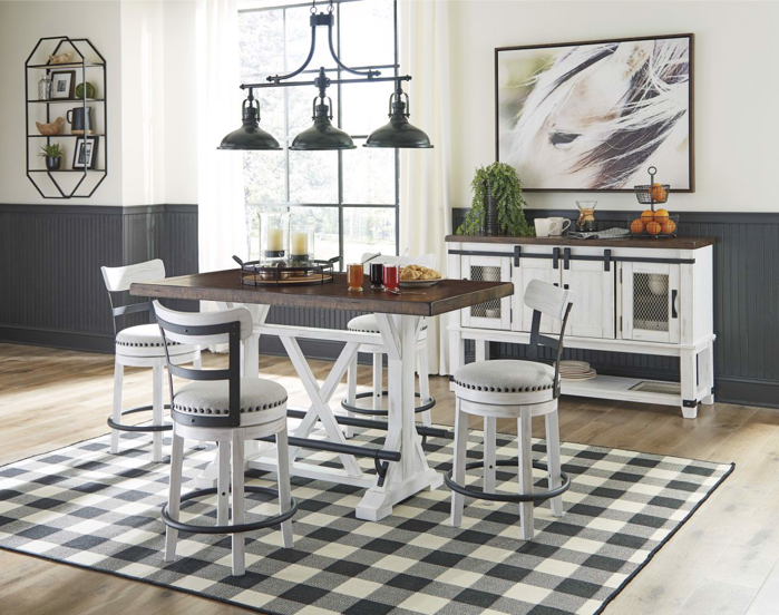 Picture of Valebeck Pub Table & 4 Stools