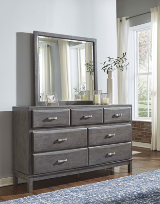 Picture of Caitbrook Dresser & Mirror