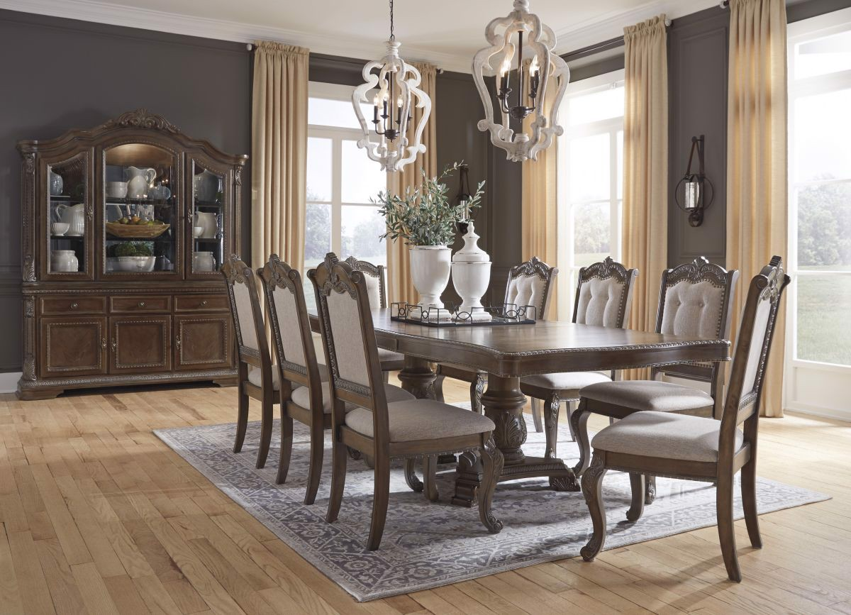 Picture of: Charmond Table 8 Chairs