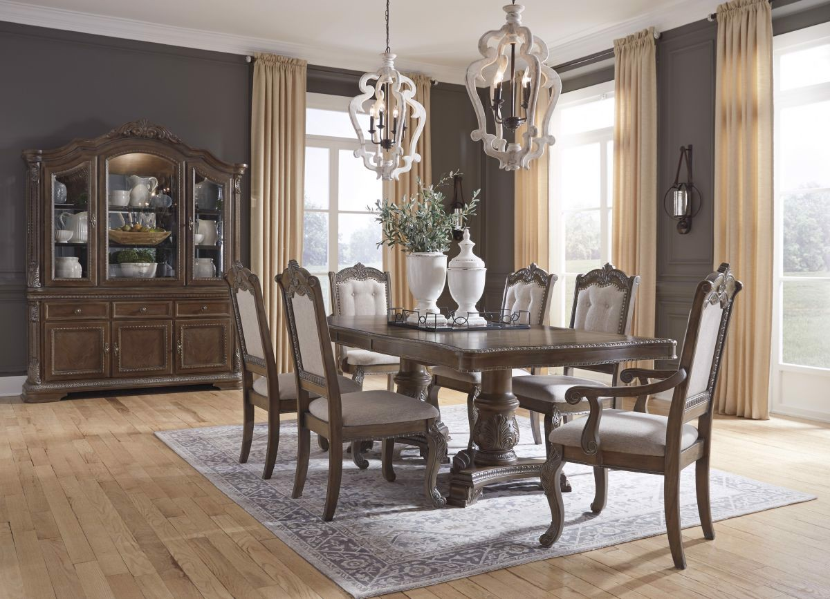 Charmond Table 6 Chairs, Dining Room Sets For 6