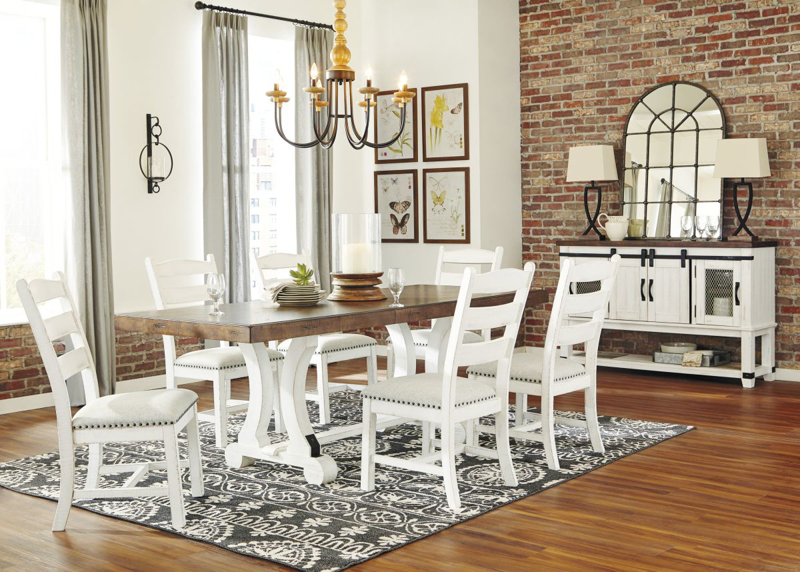 Valebeck Table & 6 Chairs