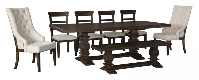 Picture of Hillcott Table, 6 Chairs & Bench