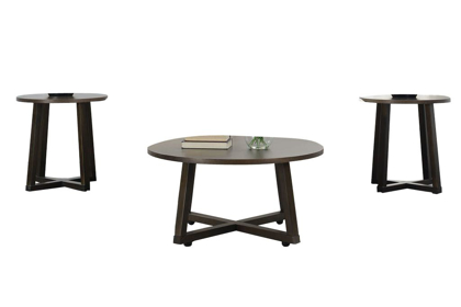 Picture of Industrial 3 Piece Table Set