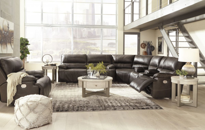 Picture of Ricmen Reclining Power Sectional