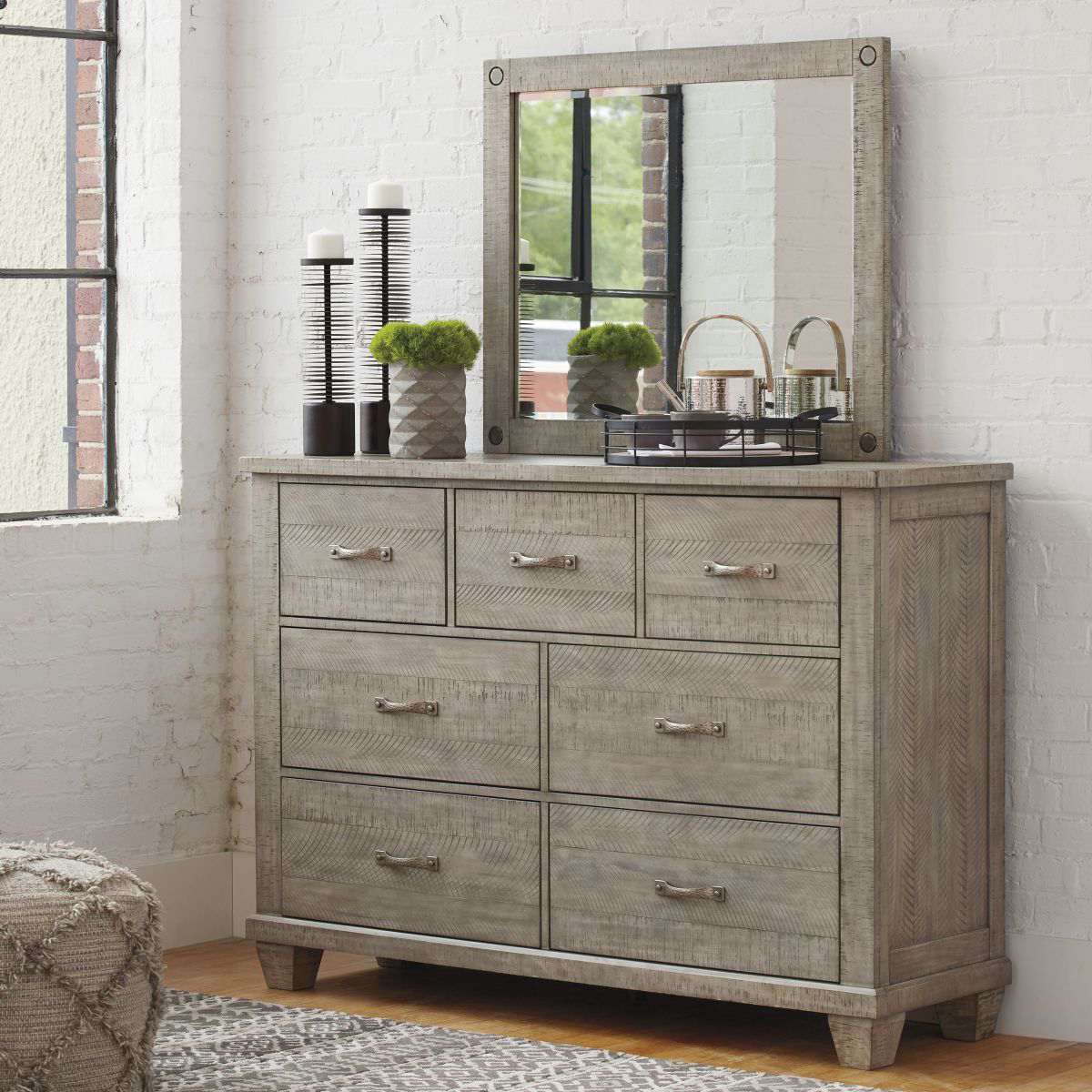 Picture of Naydell Dresser & Mirror