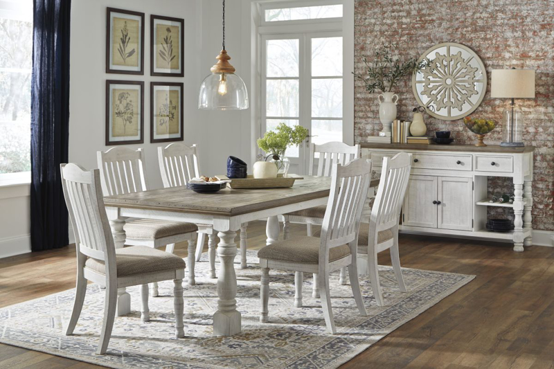 Havalance Table & 6 Chairs