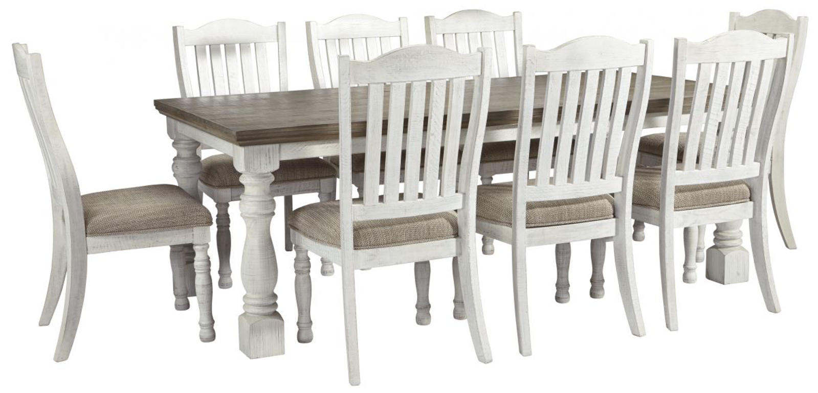 Picture of Havalance Table & 8 Chairs