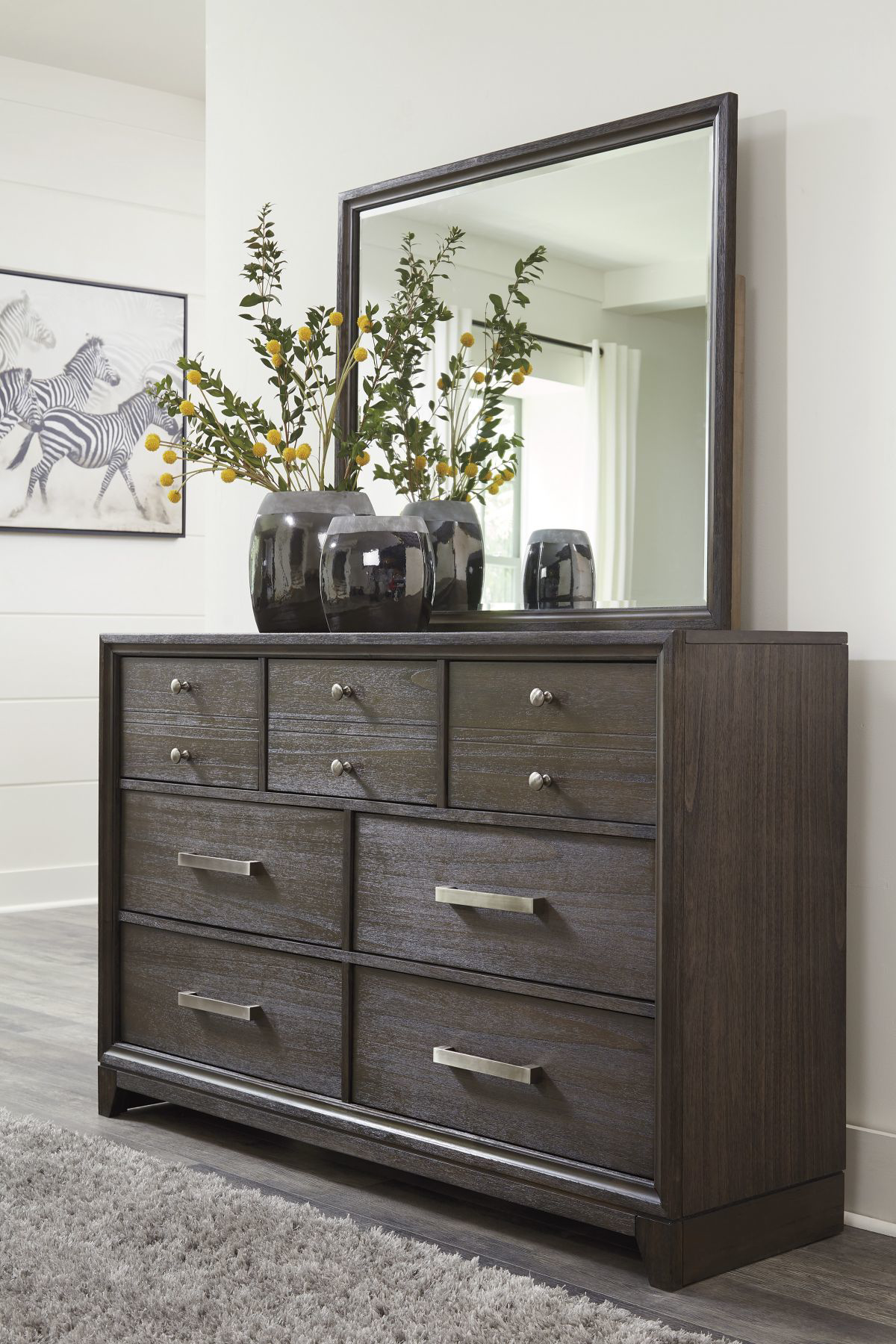Picture of Brueban Dresser & Mirror