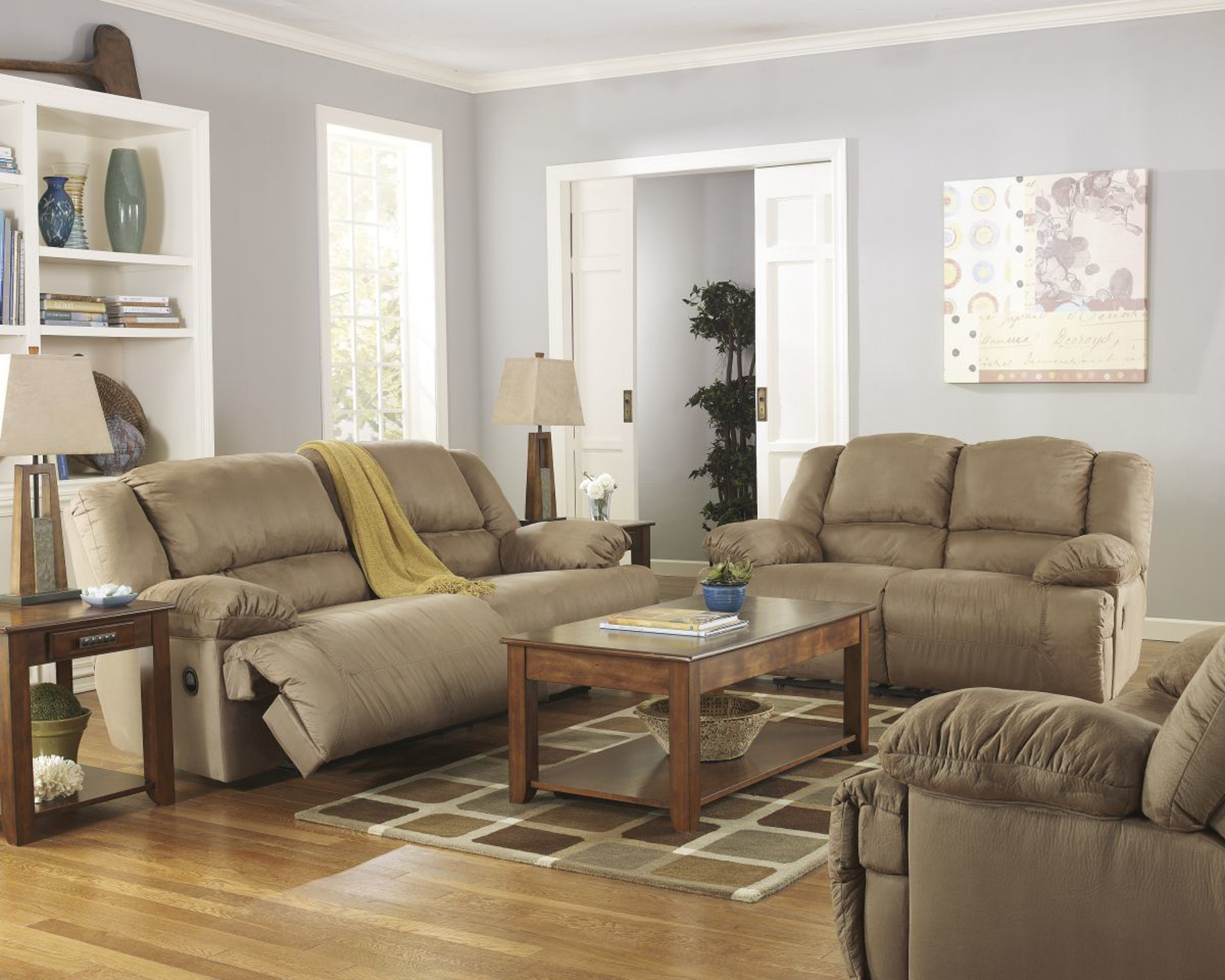 Hogan 3 Piece Living Room Group