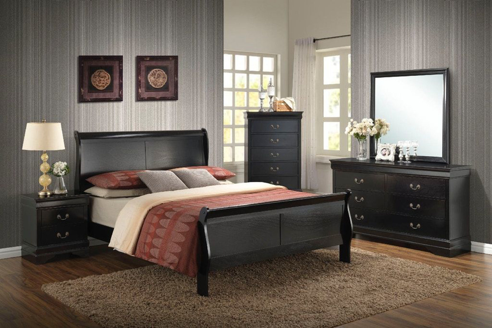 Picture of Belleview 8 Piece Queen Bedroom Group