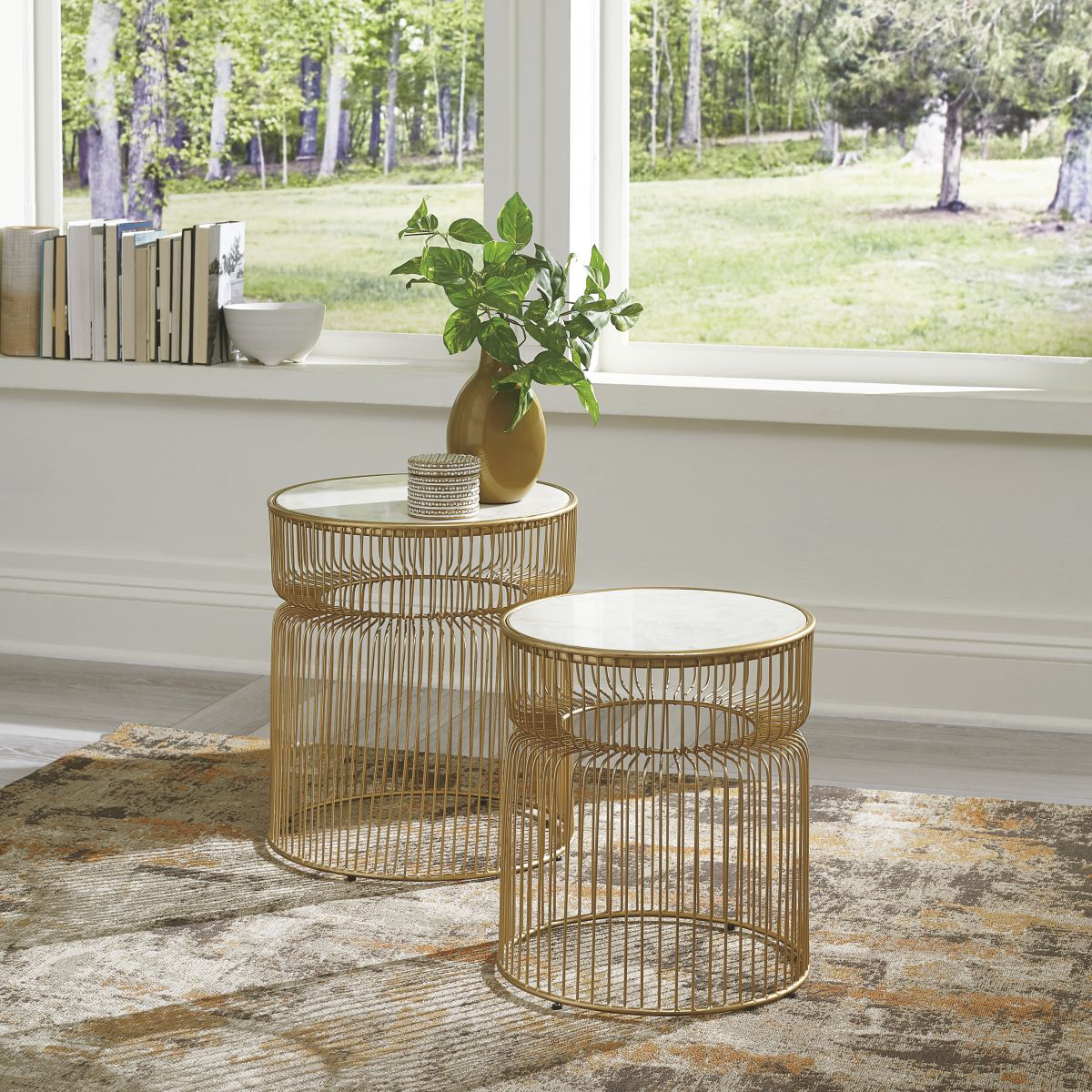 Picture of Vernway 2 Piece Accent Table Set