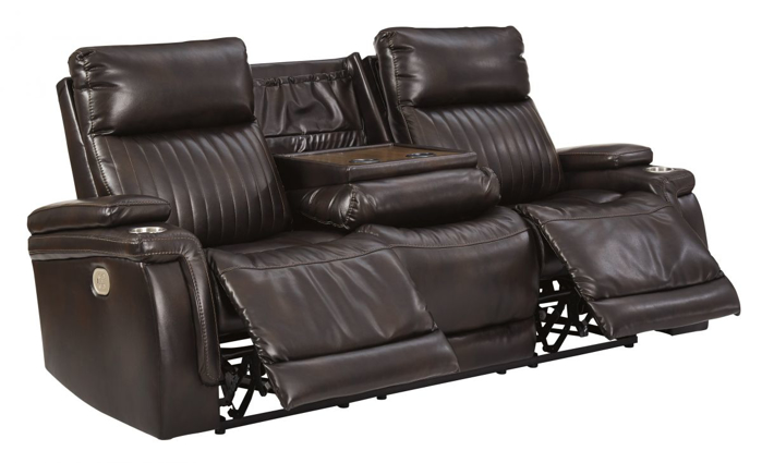 Picture of Team Time Reclining Power Sofa