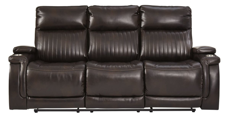 Team Time Reclining Power Sofa