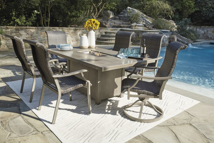 Picture of Windon Barn Patio Fire Pit Table