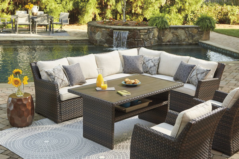 Easy Isle Patio Sectional