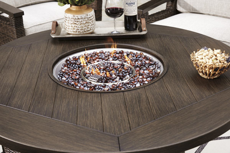 Paradise Trail Patio Fire Pit Table