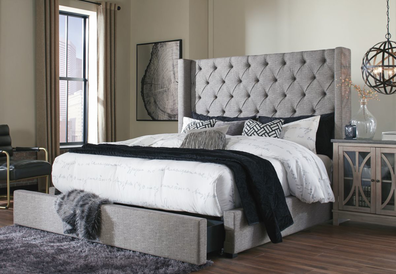 Sorinella King Size Bed